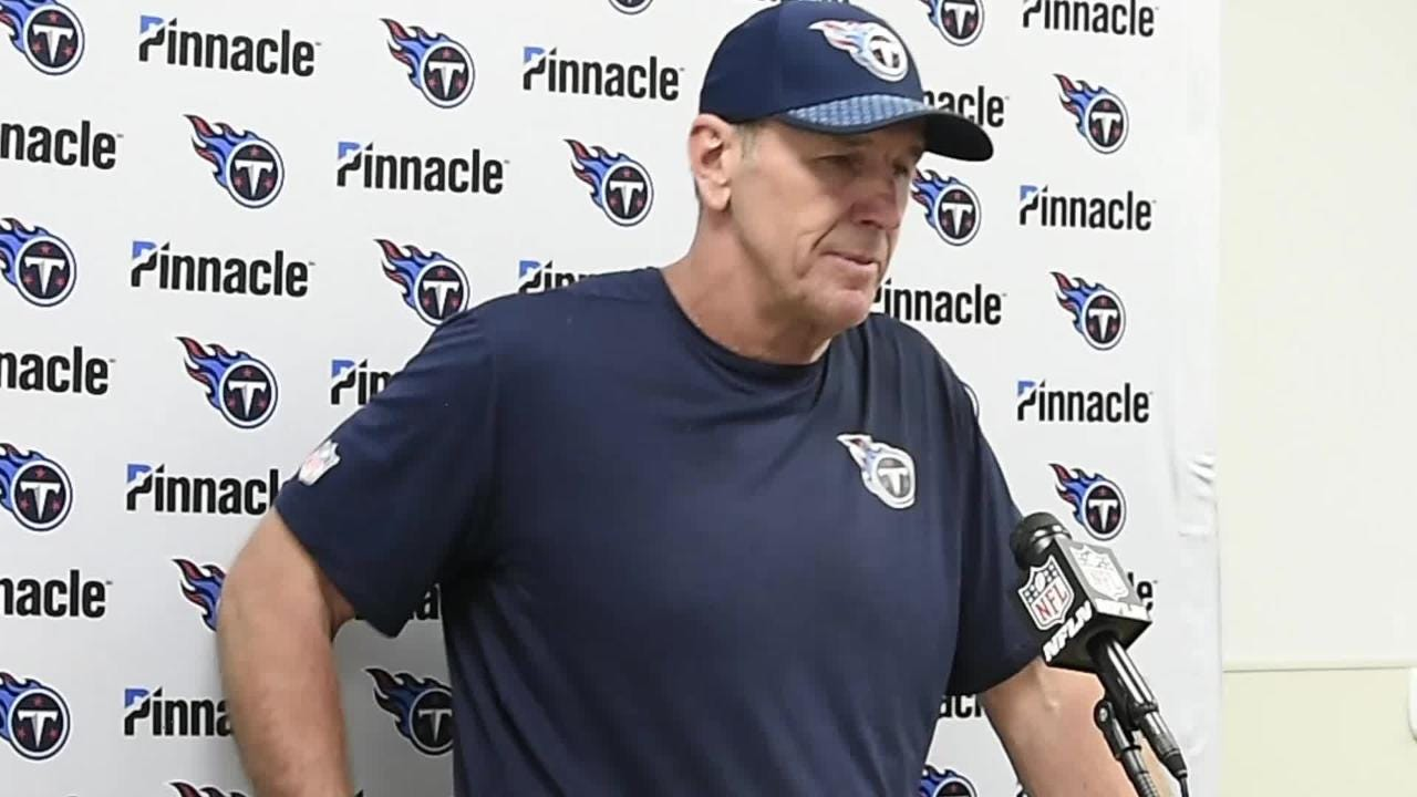 Titans: Mularkey, Cassel discuss loss to Dolphins