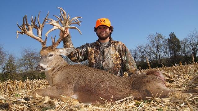 why world record deer hunter took year before his next kill