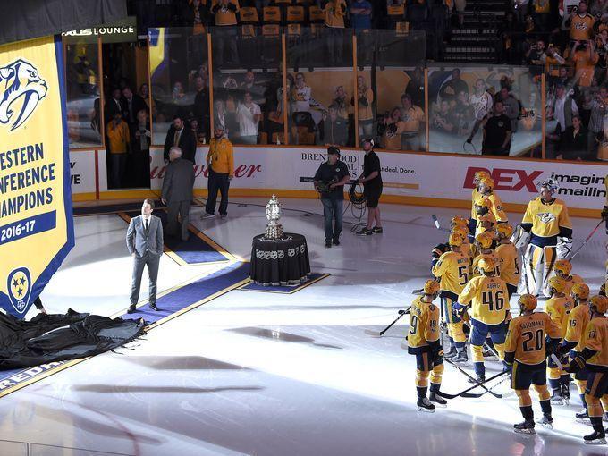 Predators see banner night for home opener