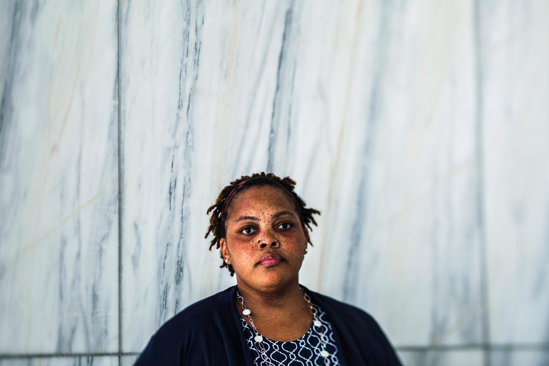 Community activist Tami Sawyer, 35, is demanding Memphis leaders to quickly remove Confederate statues before the city commemorates the 50th anniversary of Dr. Martin Luther King Jr.'s death in 2018.