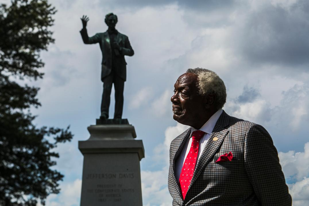 Shelby County commissioner and attorney Walter Bailey, 76, believes the Confederate monuments in Memphis should come down.