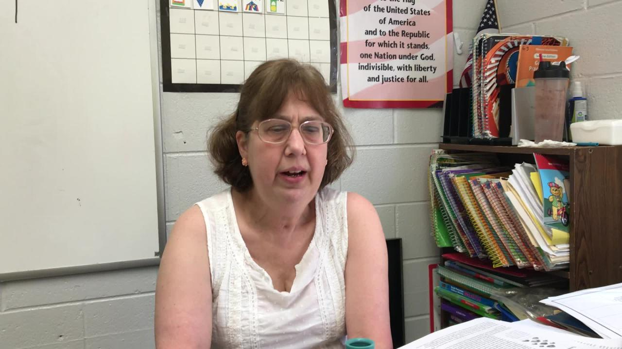 Mary Baer came to teach at Memphis Heritage Christian School in 2010, right after husband died and six years after being diagnosed with breast cancer. She discusses what she likes about the job.