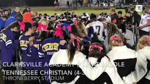 Friday night highlights: MTCS 51, Clarksville Academy 22