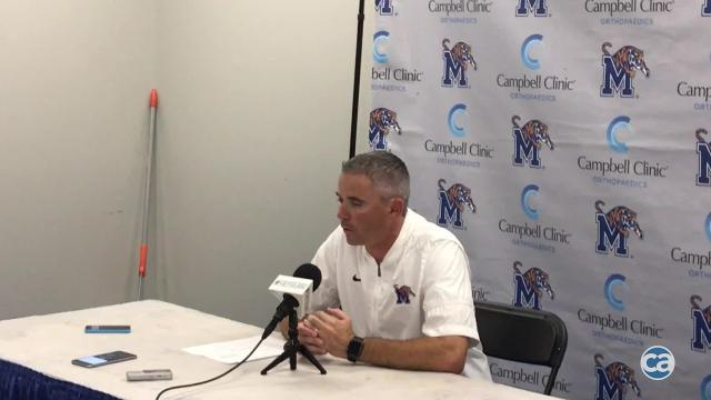 Memphis 30, Navy 27: Mike Norvell reacts