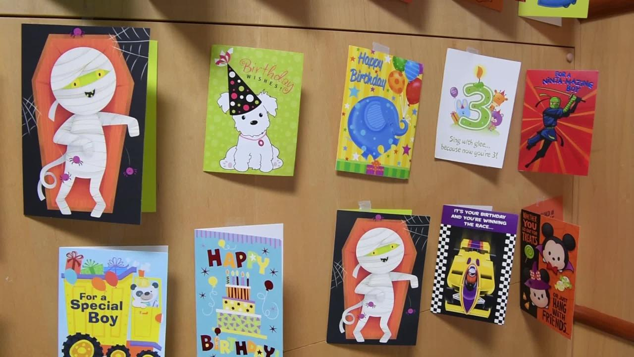 Boy with  leukemia just wants cards for his birthday
