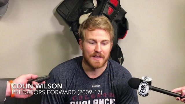 Colin Wilson talks return to Nashville following trade