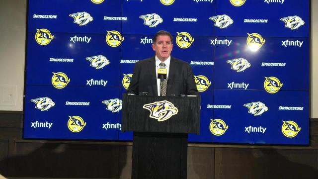 Peter Laviolette talks Viktor Arvidsson, Predators' win vs. Avalanche