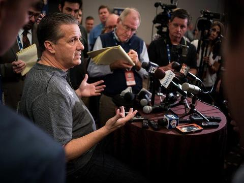 See what SEC basketball coaches had to say about the FBI investigation