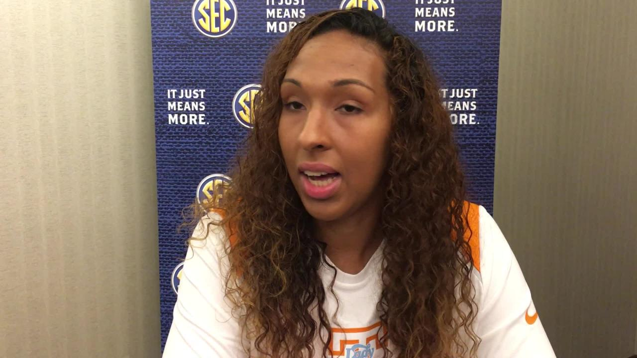 Lady Vols center Mercedes Russell on the 2017-18 season
