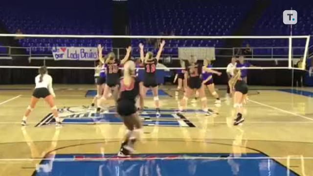 Highlights from Brentwood's Class AAA volleyball state championship