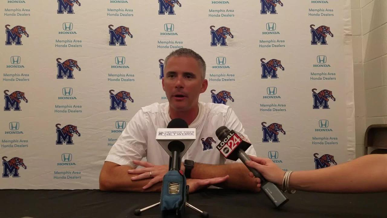 Mike Norvell breaks down Tigers' comeback at Houston