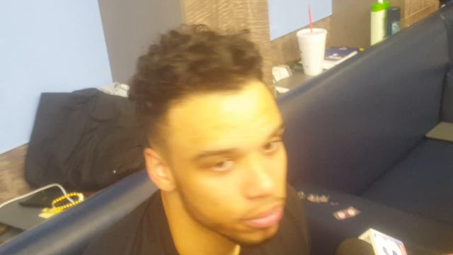 Dillon Brooks after NBA debut