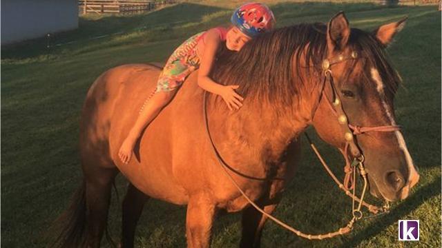 Who shot Madeline's horse?