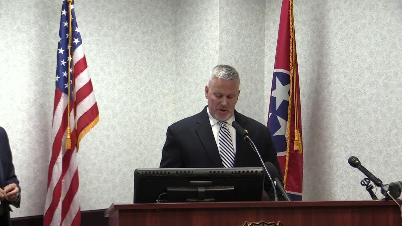 T.J. Jordan, Assistant Director of the TBI's Drug Investigation Division warns the public of deadly fentanyl now being found in cocaine. Fentanyl is typically found in opioids.