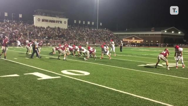 Friday night highlights: Brentwood Academy 29, MBA 0