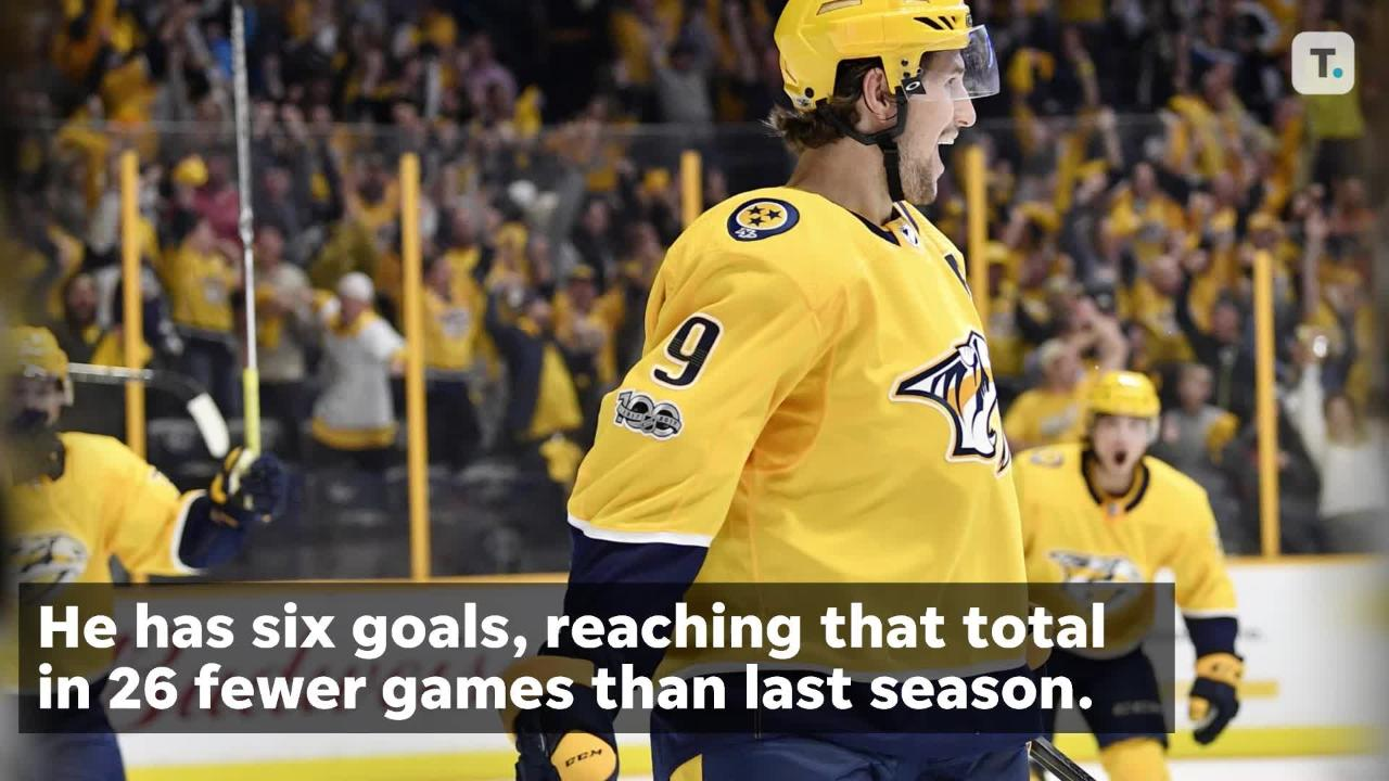 Breaking down Predators forward Filip Forsberg's hot start