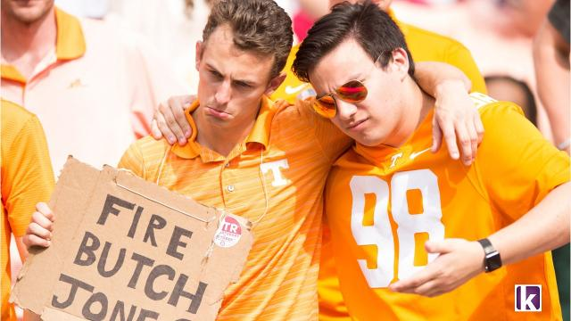 Tennessee unable to keep up with Alabama