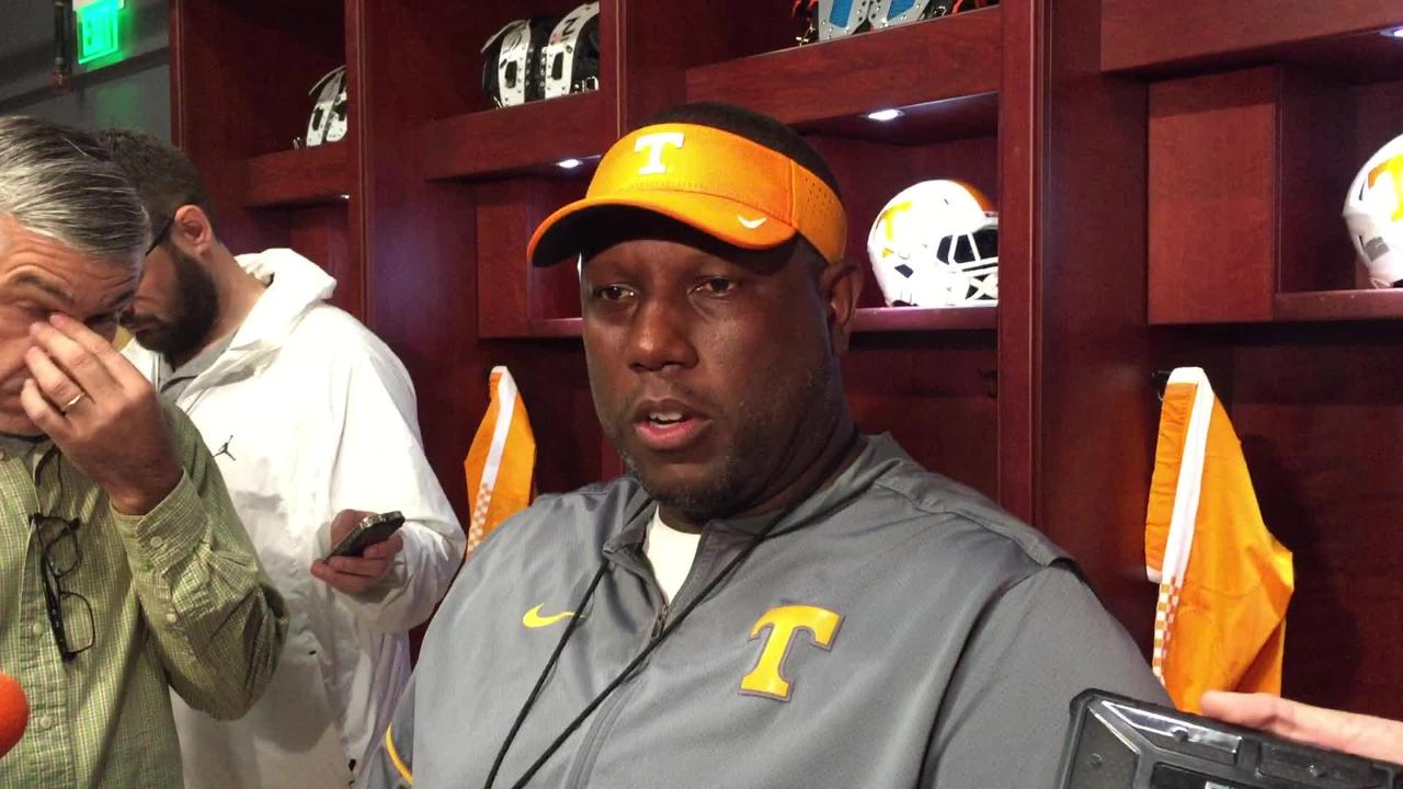Larry Scott: 'The football has to cross the goal line'