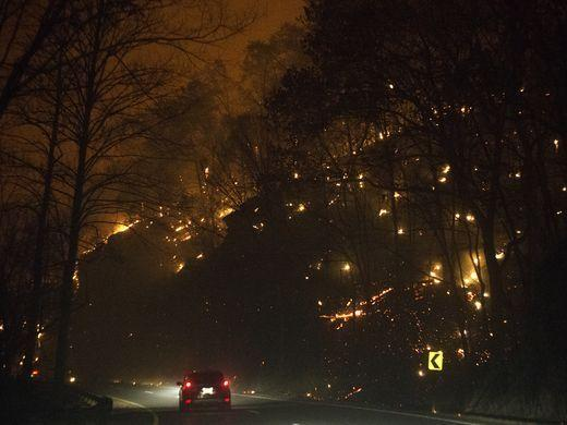Gatlinburg wildfire survivor recounts the 'worst night of my life'