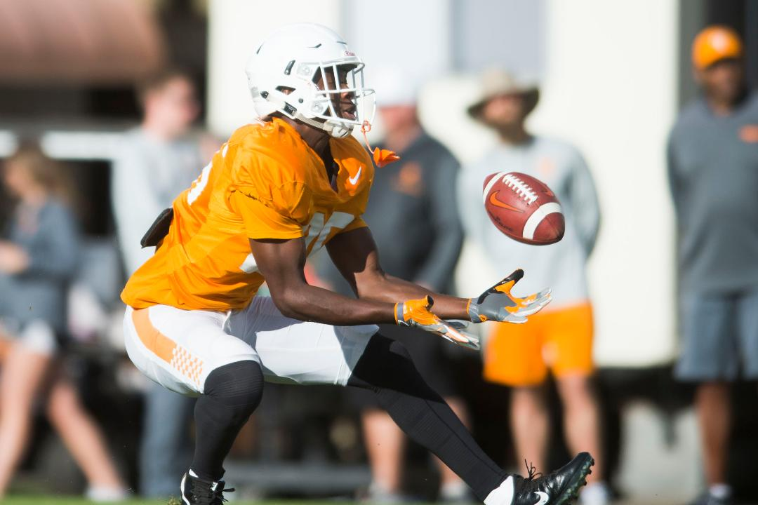 Tennessee Vols football practice Oct. 24, 2017