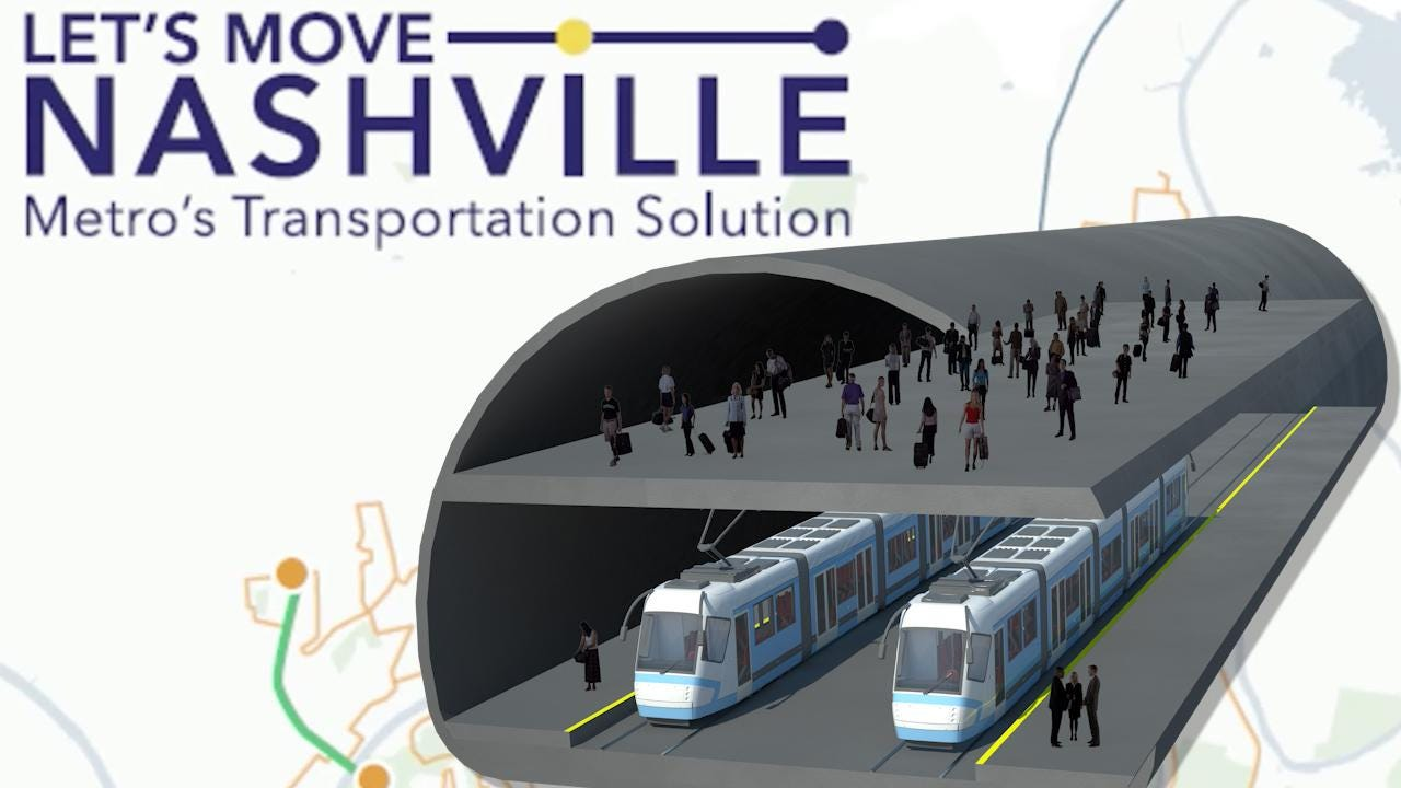 Nashville mass transit plan: How the $5.2B system would be funded