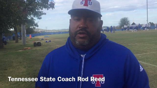 Tennessee State coach Rod Reed talks about Saturday's game at Tennessee Tech