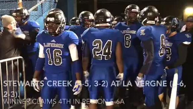 Friday night highlights: La Vergne 28, Stewarts Creek 21