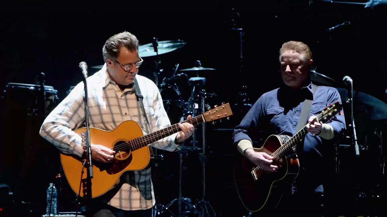 the eagles play nashville 39 s grand ole opry with vince gill. Black Bedroom Furniture Sets. Home Design Ideas
