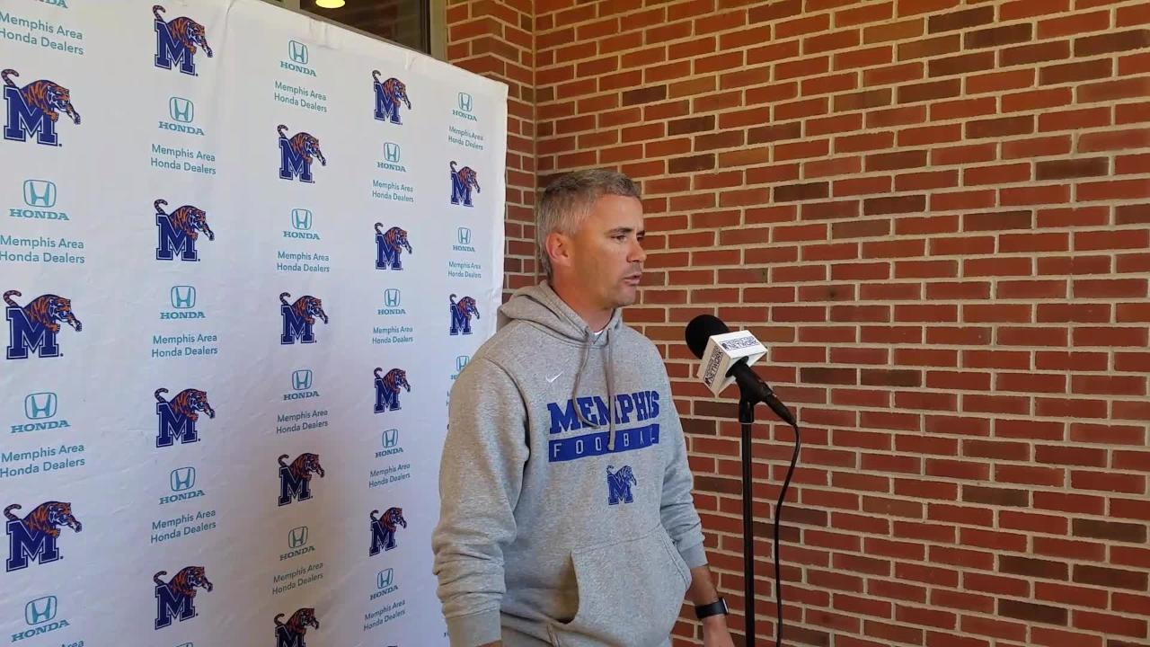Memphis coach Mike Norvell addresses job rumors
