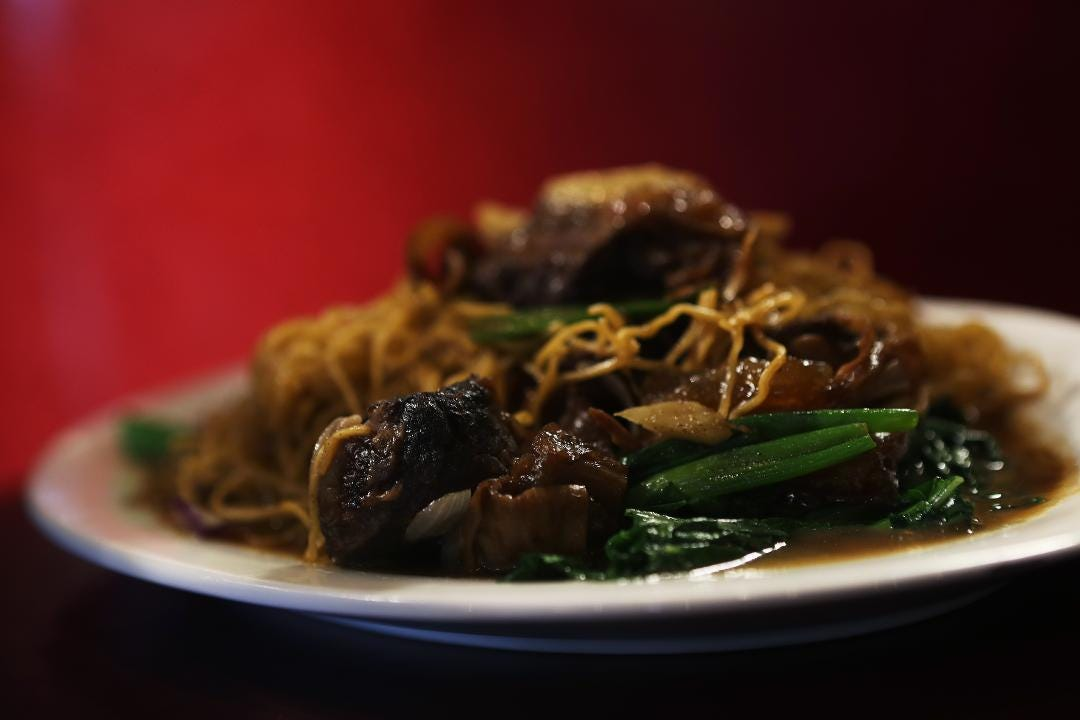 Raymond Leung, a server at Golden City, talks about the Chinese restaurant that's located in Cordova.