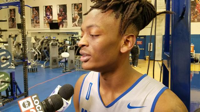 Kyvon Davenport on his expectations for Tigers' exhibition game