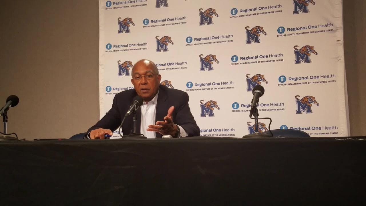 Tubby Smith reacts to Tigers' exhibition game win over LeMoyne Owen