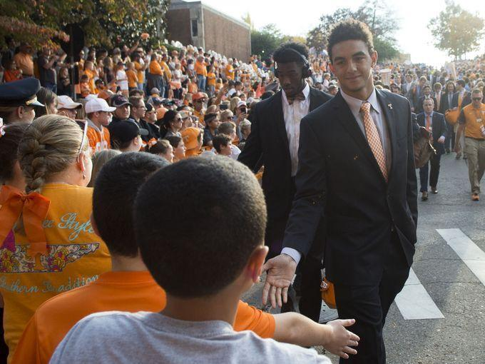 Tennessee vs. Southern Miss Vol Walk