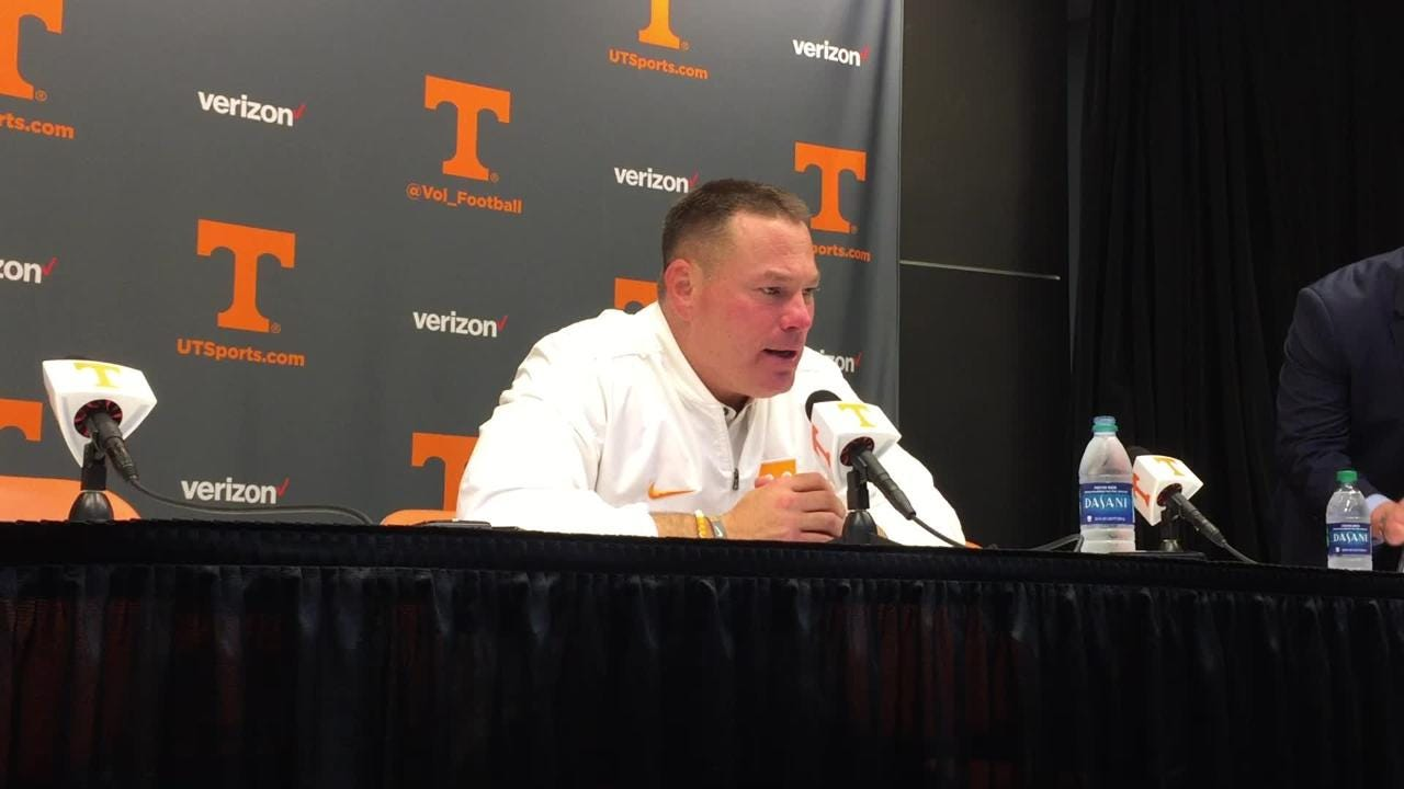 Butch Jones: 'Excited for our players' after beating Southern Miss