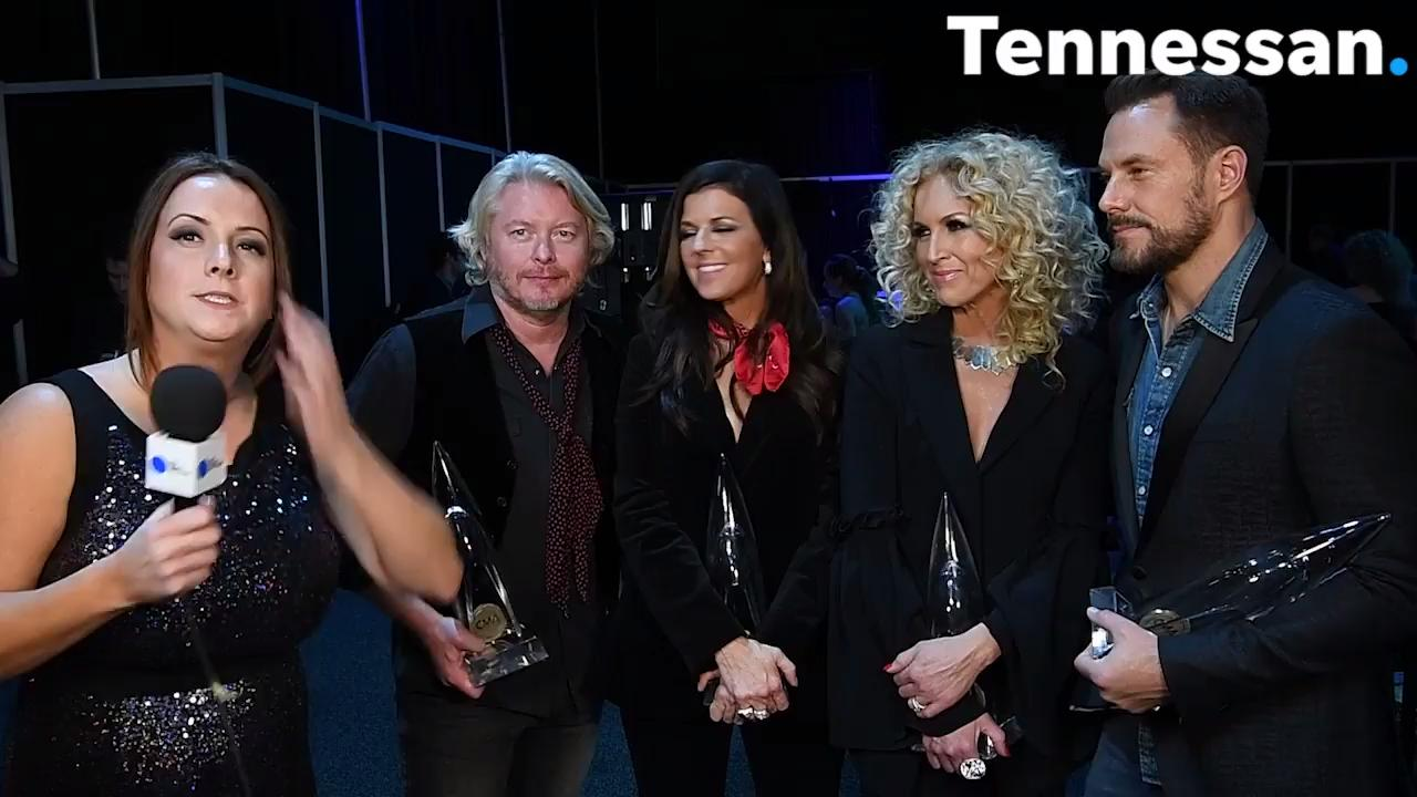 Little Big Town talks about winning at the CMAs