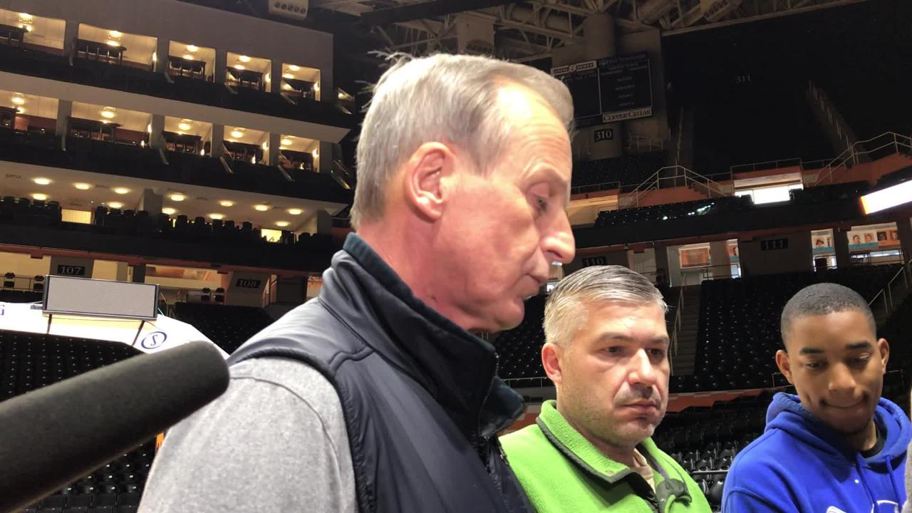 Rick Barnes: 'There's nothing we don't have to get better at'