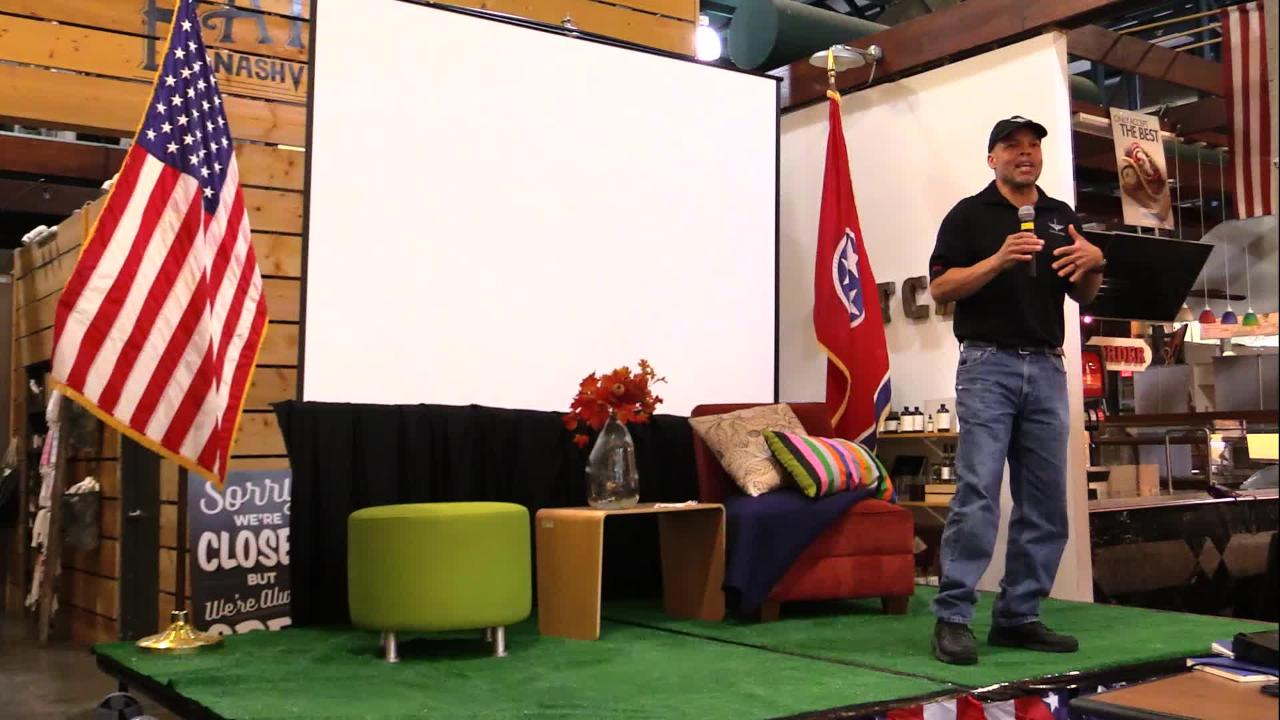 Nashville Storytellers: Marine and Army veteran Ken Poindexter tells us his story of honor, loyalty and incredible grief