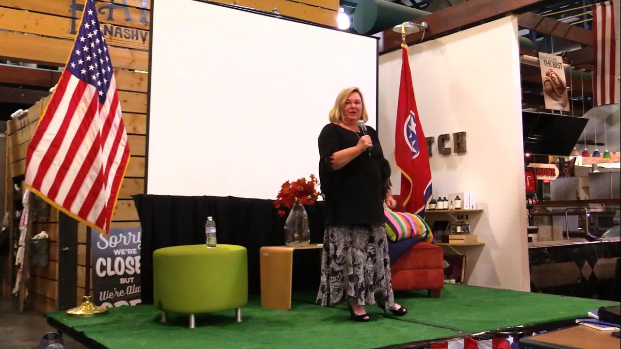 Nashville Storytellers: Gold Star Mom Tammy Bass explains how she recovered from the loss of her son in Iraq