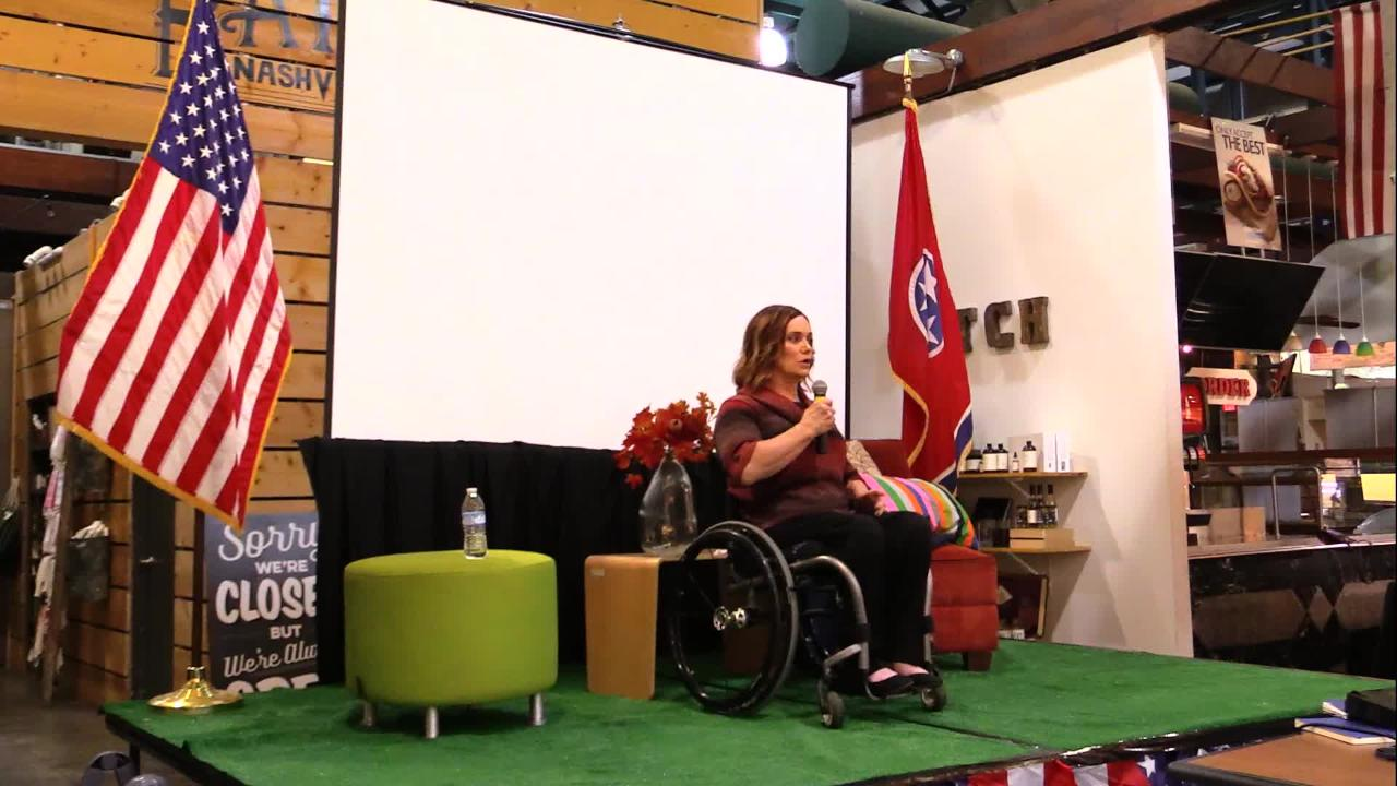 Robin Patty was paralyzed in a HALO jump as part of her time served in the U.S. Special Forces, but that's not the only way her life has changed since her time in the military.