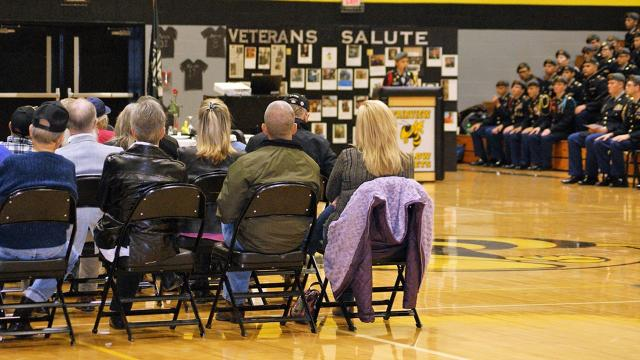 Fairview High hosted a special assembly to remember our nation's Veterans on Nov. 10, 2017.