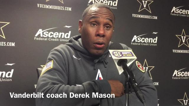 Vanderbilt coach Derek Mason after loss to Kentucky