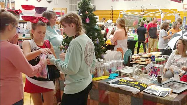 Fairview Middle School PTO hosted their annual Holiday Bazaar and raised funds for future projects.