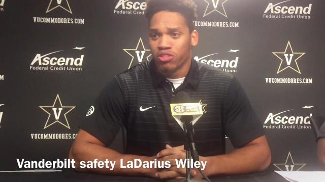Vanderbilt safety LaDarius Wiley on facing Missouri