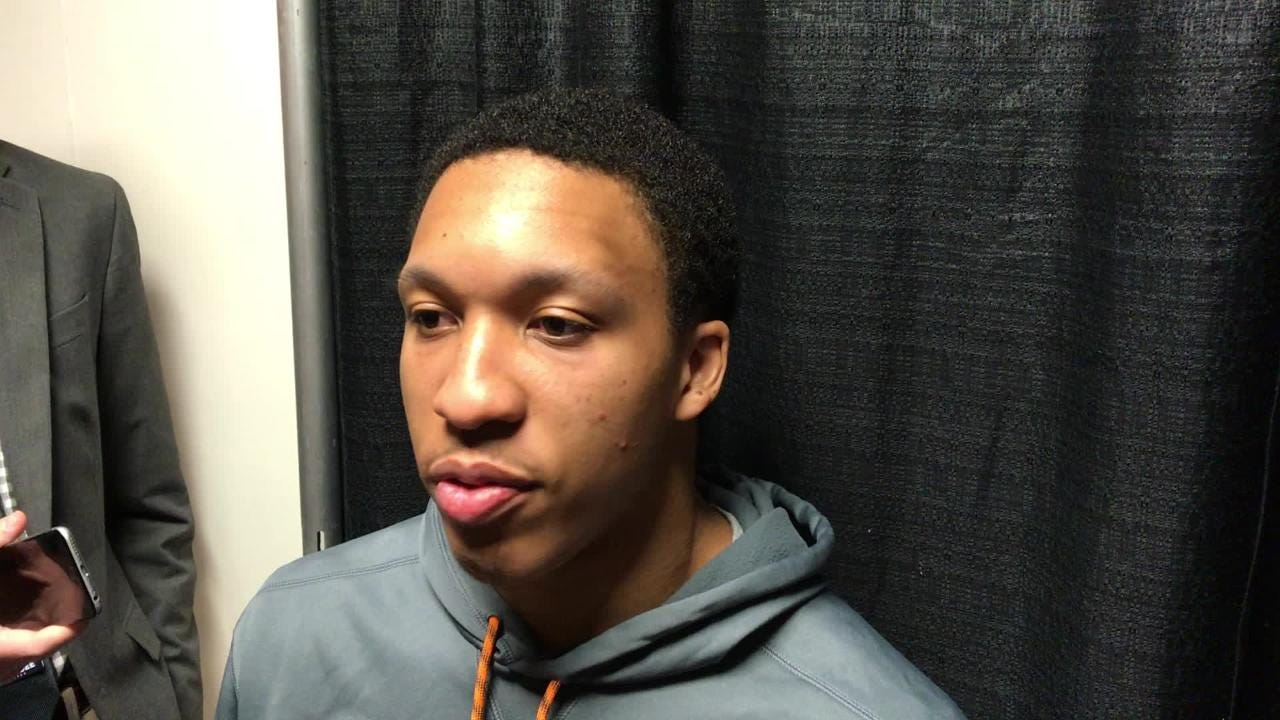 Grant Williams: Vols '10 times better' defensively this season