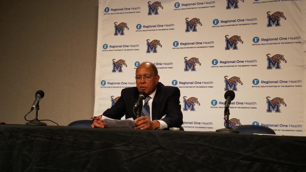 Tubby Smith on Tigers' comeback vs. Little Rock, Jeremiah Martin's leadership