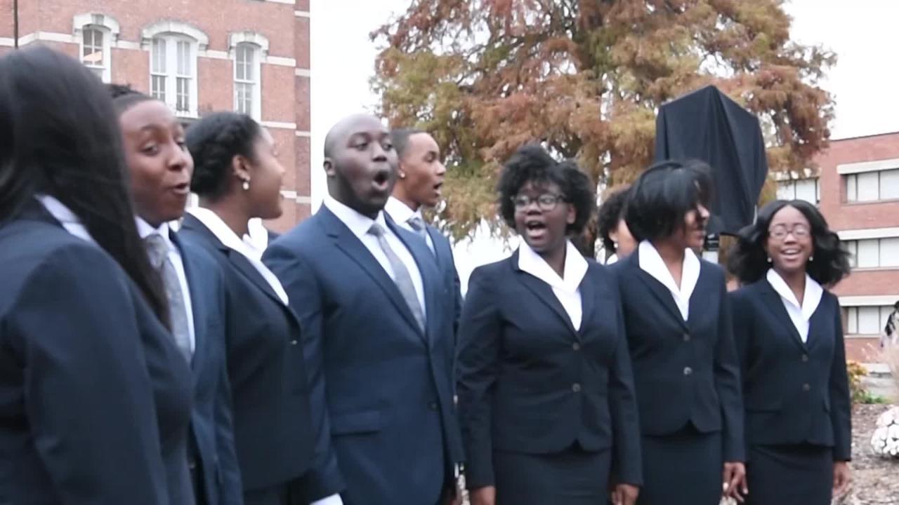 Jubilee Singers receive historic marker on Fisk campus