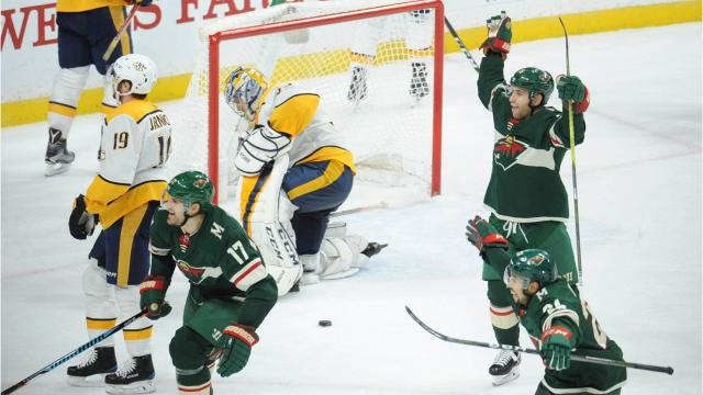 The Predators blew a 3-0 lead against the Wild on Thursday, not the first time they've given up a large advantage this season.