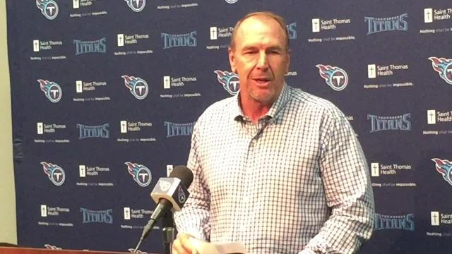 Titans coach Mike Mularkey on Marcus Mariota's four interceptions