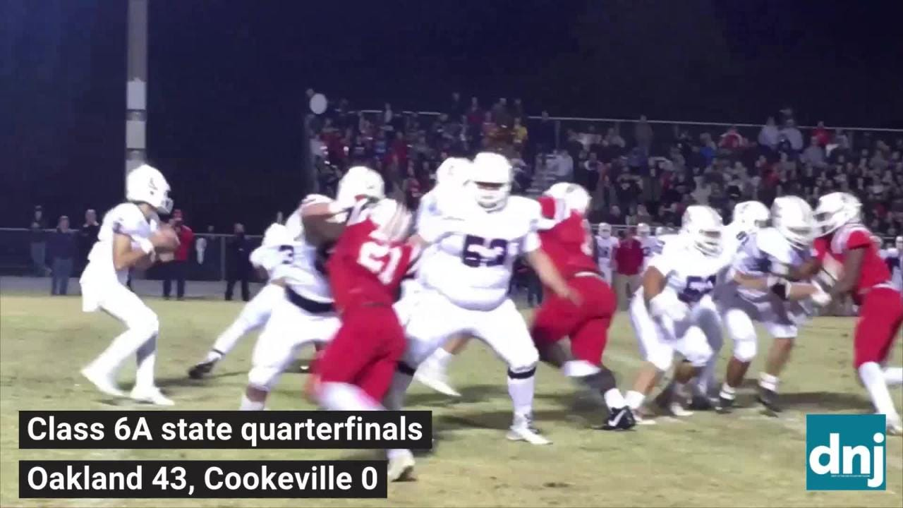 Friday night highlights Oakland 43, Cookeville 0