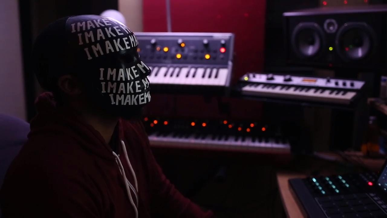 A look inside of James Dukes', also known as IMAKEMADBEATS, home studio in Raleigh.